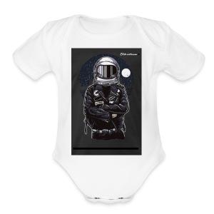 Elite astronaut men t-shirt - Short Sleeve Baby Bodysuit