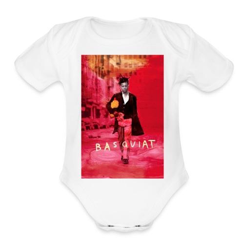 basquiat - Organic Short Sleeve Baby Bodysuit