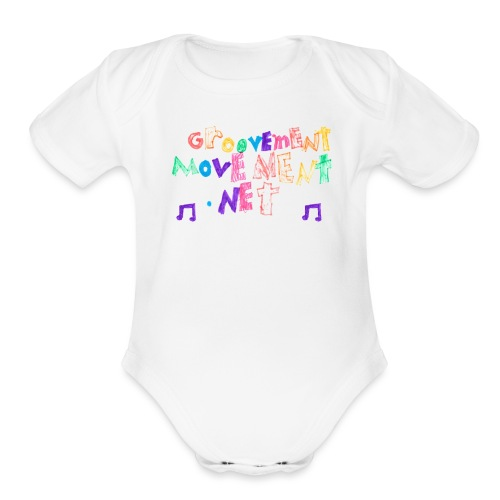 Ruby design - Organic Short Sleeve Baby Bodysuit