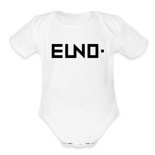 EUNO Apperals 2 - Organic Short Sleeve Baby Bodysuit