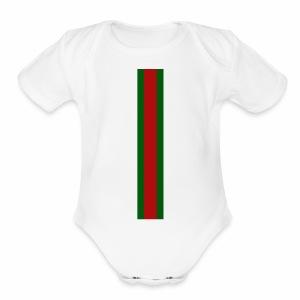 BUCCI BABY - Short Sleeve Baby Bodysuit