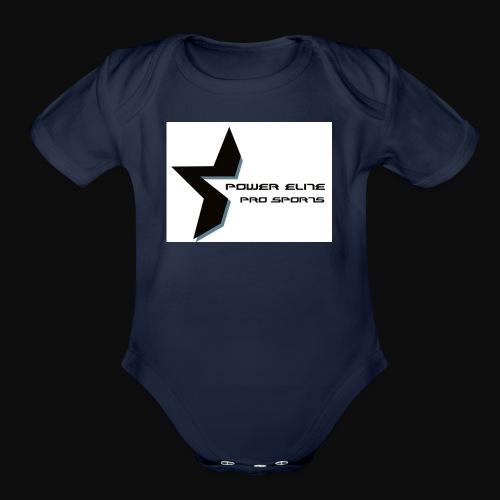 Star of the Power Elite - Organic Short Sleeve Baby Bodysuit