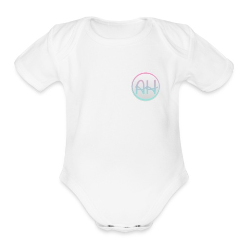 Ashley Hannah - Organic Short Sleeve Baby Bodysuit