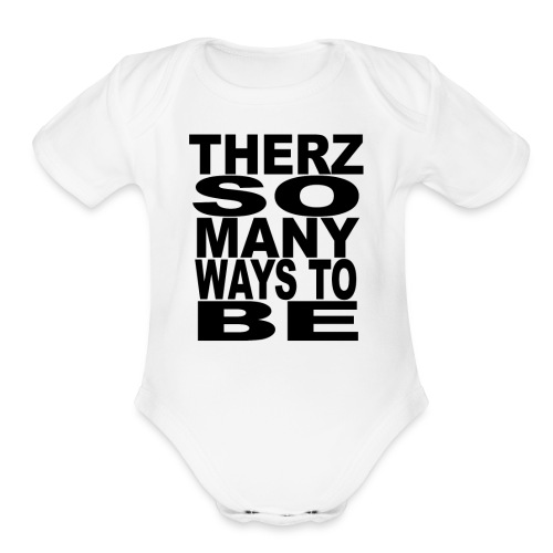 Therz Tshirt png - Organic Short Sleeve Baby Bodysuit