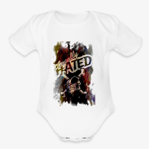 LocalllyHATED - Organic Short Sleeve Baby Bodysuit