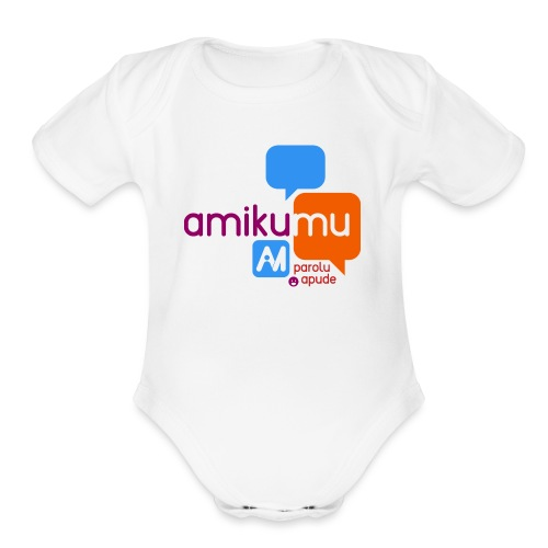 Amikumu Parolu Apude - Organic Short Sleeve Baby Bodysuit