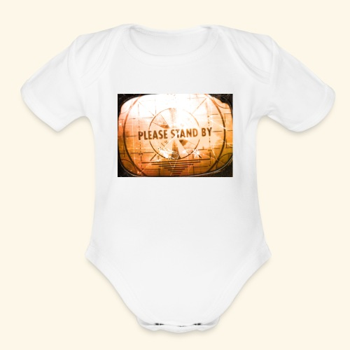 Old logo - Organic Short Sleeve Baby Bodysuit