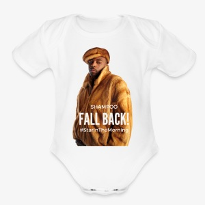 Shampoo Fall Back! - Short Sleeve Baby Bodysuit