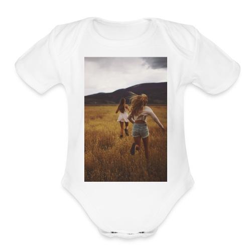 The Dream Life - Organic Short Sleeve Baby Bodysuit