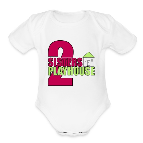 2sisters colorhouse 7 - Organic Short Sleeve Baby Bodysuit