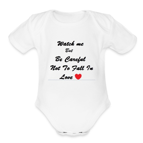 Cute Baby T-Shirt - Organic Short Sleeve Baby Bodysuit