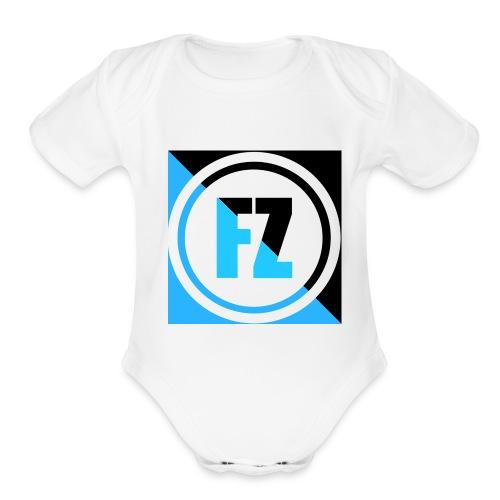 FREEZYZAY - Organic Short Sleeve Baby Bodysuit