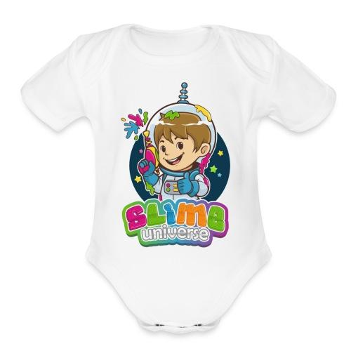 SlimeUniverse! - Organic Short Sleeve Baby Bodysuit