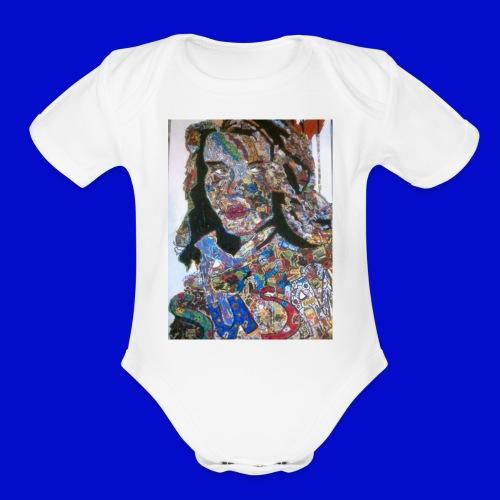 Susan - Organic Short Sleeve Baby Bodysuit