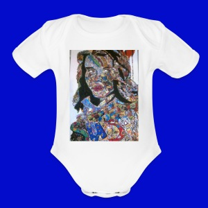 Susan - Short Sleeve Baby Bodysuit
