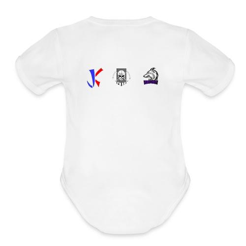 enlist png - Organic Short Sleeve Baby Bodysuit