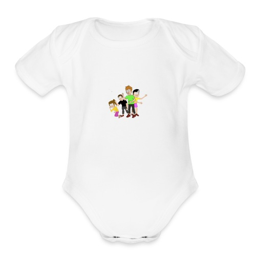 Lost The Plot Merch - Organic Short Sleeve Baby Bodysuit