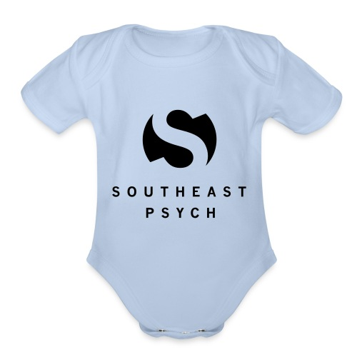 Southeast Psych Tall Mug Logo and Name - Organic Short Sleeve Baby Bodysuit