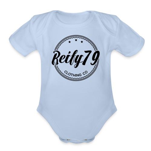 R79 - Organic Short Sleeve Baby Bodysuit
