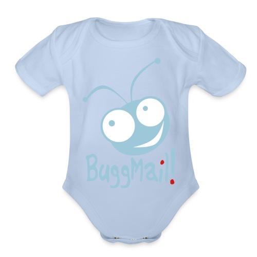 BuggMail! - Organic Short Sleeve Baby Bodysuit