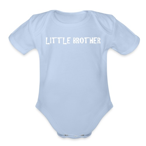 Little Brother - Organic Short Sleeve Baby Bodysuit
