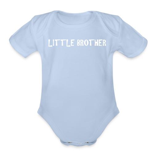 Little Brother - Organic Short Sleeve Baby Bodysuit