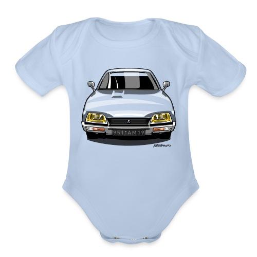 French CX 2200 - Organic Short Sleeve Baby Bodysuit