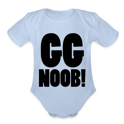 GG Noob - Organic Short Sleeve Baby Bodysuit
