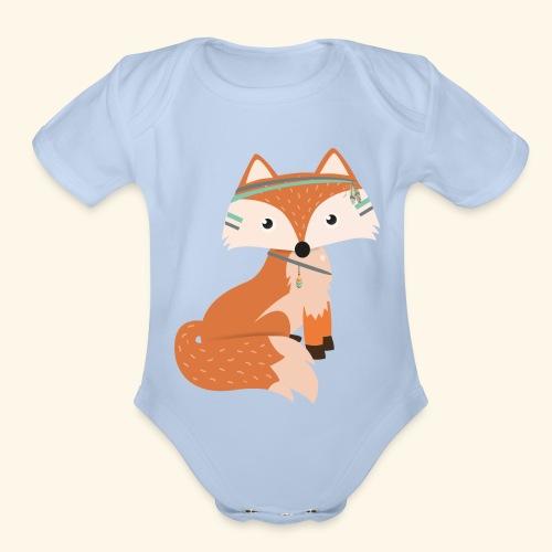 Felix Fox - Organic Short Sleeve Baby Bodysuit