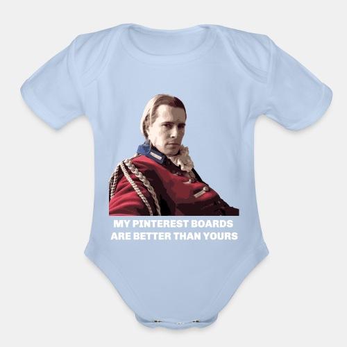 Lord John Grey - Pinterest Boards - Organic Short Sleeve Baby Bodysuit