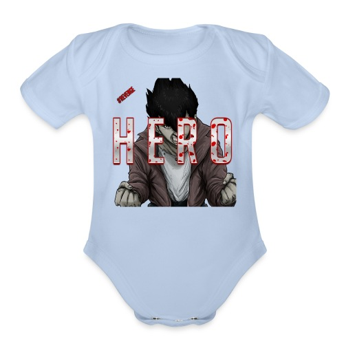 Out For Blood - Organic Short Sleeve Baby Bodysuit
