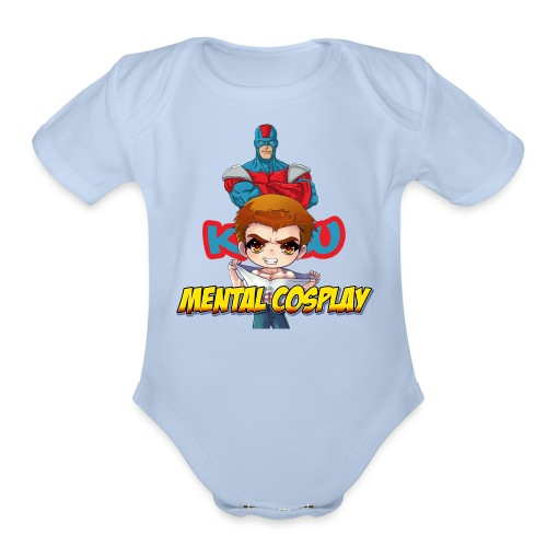 KATSU MENTAL COSPLAY - Organic Short Sleeve Baby Bodysuit