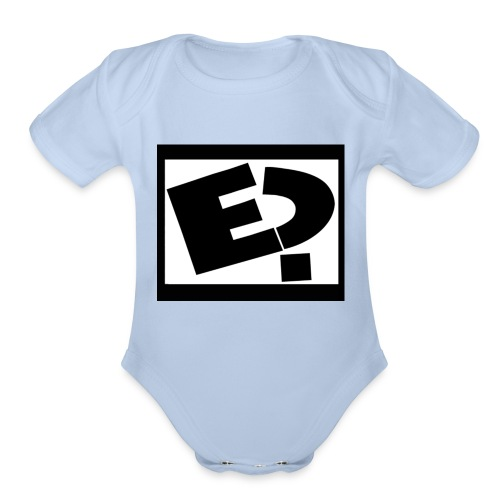 Rated E - Organic Short Sleeve Baby Bodysuit
