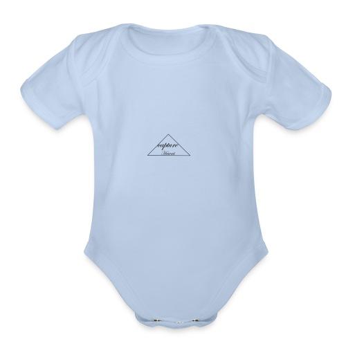 capture hawaii - Organic Short Sleeve Baby Bodysuit