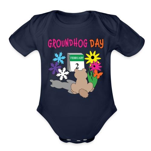 Groundhog Day Dilemma - Organic Short Sleeve Baby Bodysuit