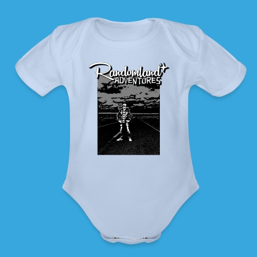 Randomland™ Road shirt - Organic Short Sleeve Baby Bodysuit