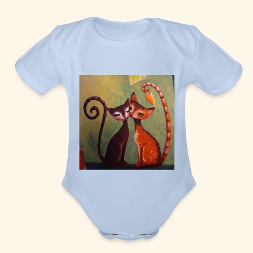 20200121 003222 - Organic Short Sleeve Baby Bodysuit