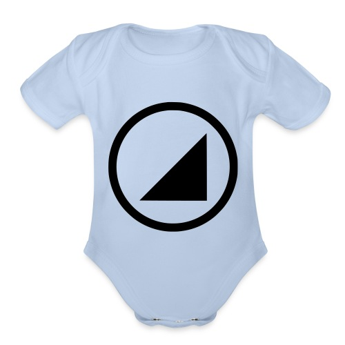BULGEBULL - Organic Short Sleeve Baby Bodysuit