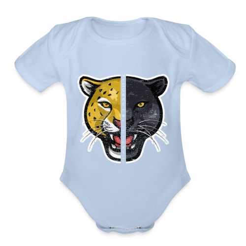 Welcome To The Jungle - Organic Short Sleeve Baby Bodysuit