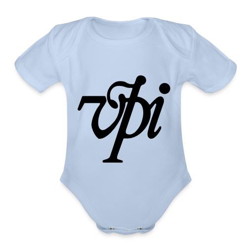 vec100-2 - Organic Short Sleeve Baby Bodysuit