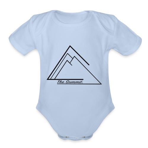 The Summit Phone case - Organic Short Sleeve Baby Bodysuit