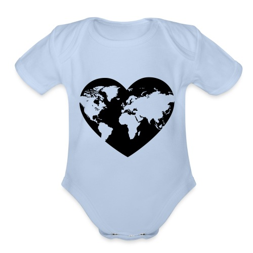 Earth Love - Organic Short Sleeve Baby Bodysuit