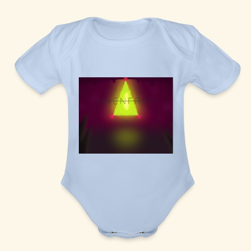 OXENFREE - Organic Short Sleeve Baby Bodysuit