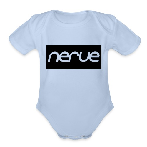Nerve Word Apparel - Organic Short Sleeve Baby Bodysuit