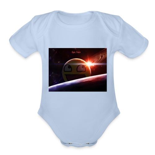 Sonic gamers - Organic Short Sleeve Baby Bodysuit