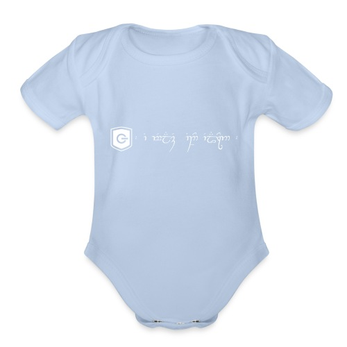 The Loving Heart of an Elf - Organic Short Sleeve Baby Bodysuit