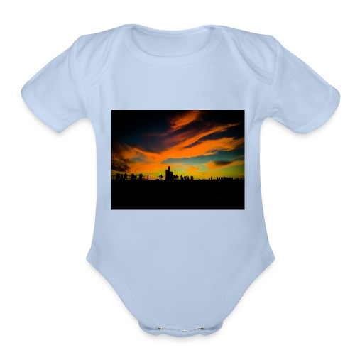 Cottesloe Beach - Organic Short Sleeve Baby Bodysuit
