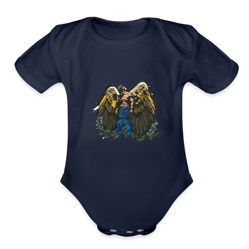 Angel - Organic Short Sleeve Baby Bodysuit