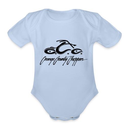 Basic Dagger New - Organic Short Sleeve Baby Bodysuit