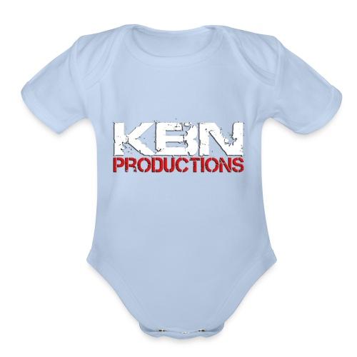 Killedbyname Productions Brand Products - Organic Short Sleeve Baby Bodysuit
